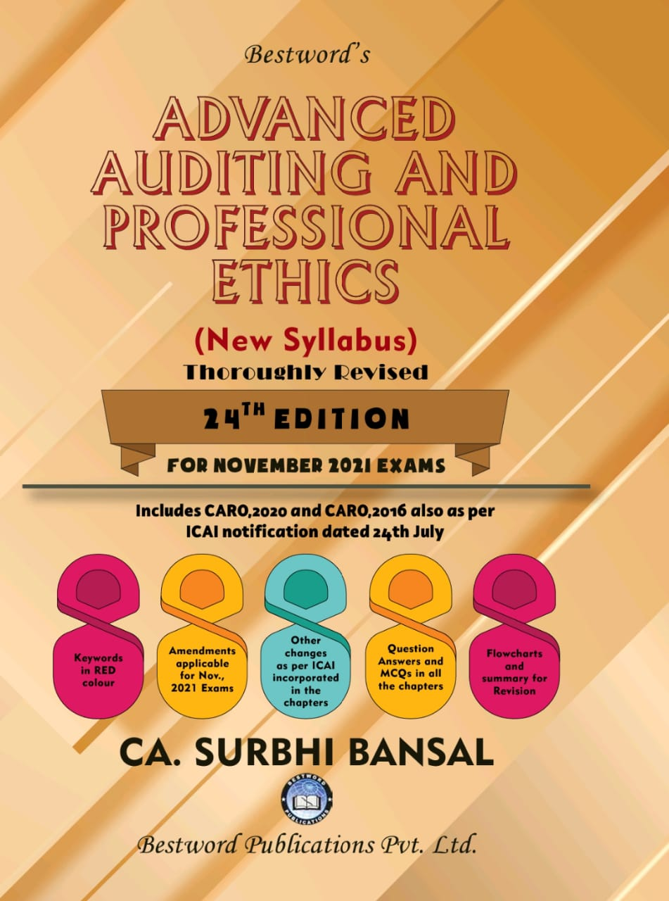 bestword's-advanced-auditing-and-professional-ethics---by-ca-surbhi-bansal---24th-edition---for-ca-(final)-november-2021-exams-(new-syllabus)